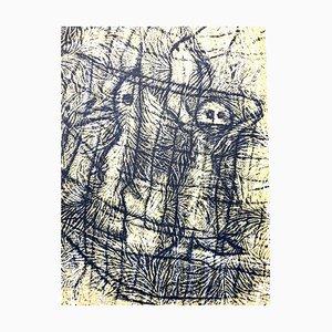 Litografía Max Ernst - Composition - Original 1958