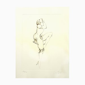 Leonor Fini - Dancing - Original Handsigned Lithograph 1986