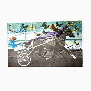Lithographie Salvador Dali - Une De Mai - Lithographie originale Signée 1972