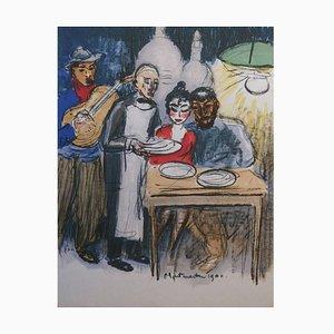 Lithographie Kees van Dongen - Montmartre 1900 - Lithographie Originale