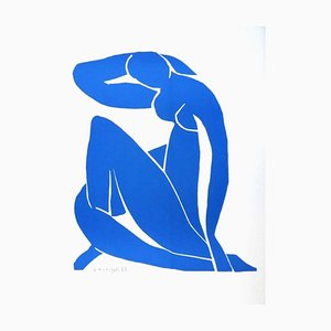 after Henri Matisse - Sleeping Blue Nude - Lithograph 1952
