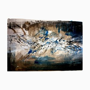 Lithographie Originale de Zao Wou-ki - Composition Abstraite 1962
