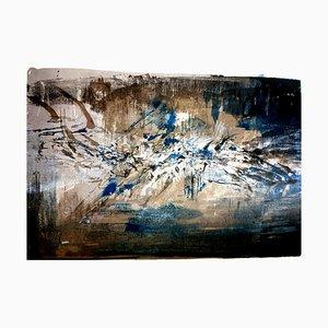 Zao Wou-ki - Litografía original - Abstract Composition 1962