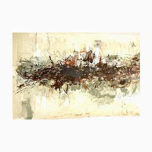 Lithographie Originale de Zao Wou-ki - Composition Abstraite 1962