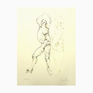 Leonor Fini - Friends - Original Handsigned Lithograph 1986
