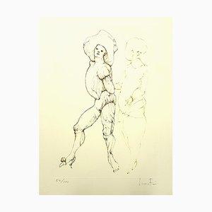 Leonor Fini - Friends - Original Handsignierte Lithographie von 1986