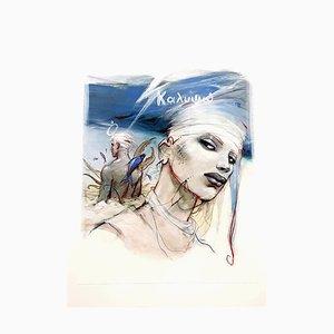 Lithographie Enki Bilal - Calypso - Lithographie Originale 2012
