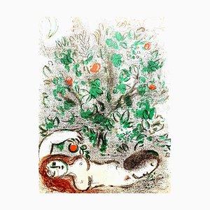 Lithographie de Marc Chagall - The Bible - Original 1960