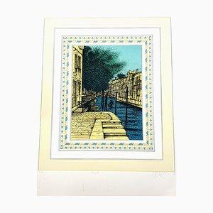 Jean Carzou - Venezia II - Original Handsignierte Lithographie 1985