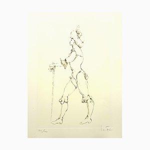 Lithographie Leonor Fini - The Cane - Original Handsigned 1986