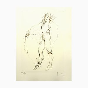 Leonor Fini - Fearless - Original Handsigned Lithograph 1986