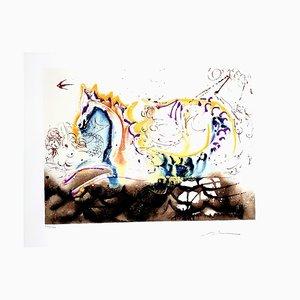 Lithographie Salvador Dali - Sea Horse - 1972
