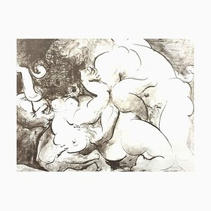 Pablo Picasso (after) - Minotaur - Lithograph 1946