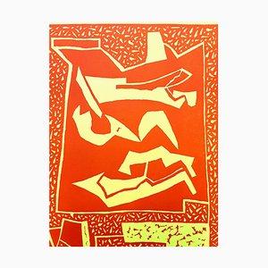 Alberto Magnelli (après) - Composition - Gravure sur Bois 1959