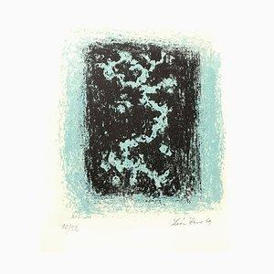 Léon Zack - Snow - Original Handsignierte Lithographie 1969