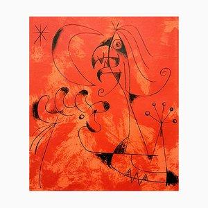 Joan Miro - Anger - Original Lithographie von 1956