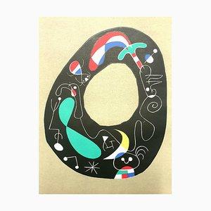 Joan Miro - The Magic Stone - Original Lithographie von 1956