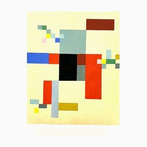 Composition Sophie Taeuber-Arp - Pochoir 1956