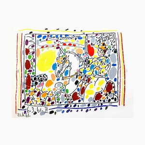 Pablo Picasso - Toros - Original 1961