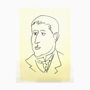 Lithographie Originale - Henri Matisse - Apollinaire 1952