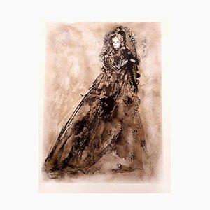 Lithographie Leonor Fini Original 1964