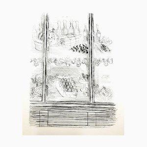 Raoul Dufy - Piatti - Incisione originale, 1940
