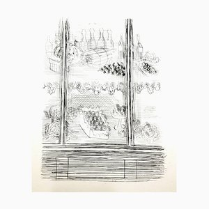 Raoul Dufy - Teller - Original Radierung 1940