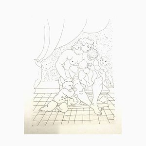André Derain - Ovid's Heroides - Original Radierung 1938