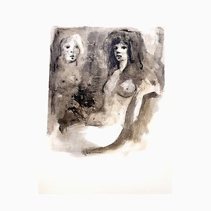 Leonor Fini - Young Beauty - Original Lithograph 1964