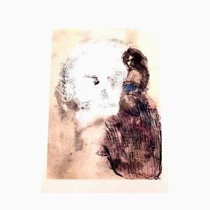 Leonor Fini - Road to Death - Original 1964
