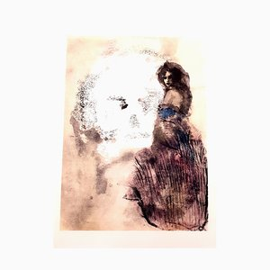 Lithographie Leonor Fini - Road to Death - Lithographie Originale 1964