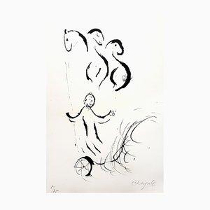 Litografia originale firmata Cha Chagall - The Great Bible 1956