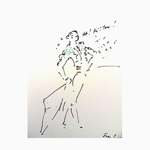 Jean Cocteau - He ! He! Toro - Original Lithograph 1961