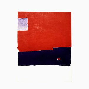 (después) Nicolas de Staël - Abstract Composition - Pochoir 1959