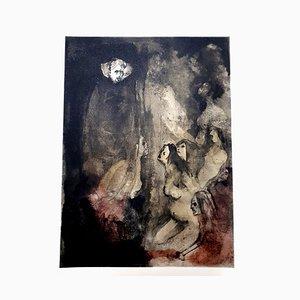 Leonor Fini - Prisonners - Original Lithograph 1964