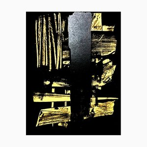 Lithographie Pierre Soulages 1959