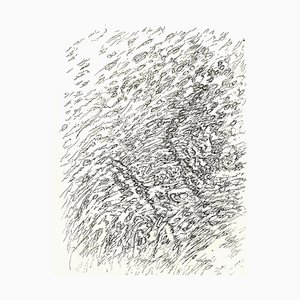 Henri Michaux - Beach - Original Lithograph 1956