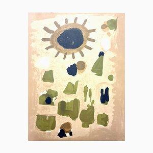 Roger Bissiere - Landscape - Lithograph 1964