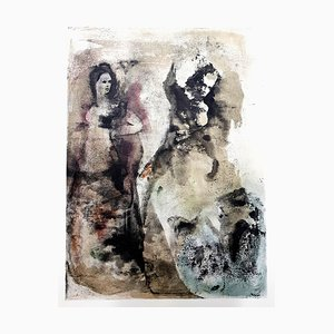 Leonor Fini - Disagreement - Original Lithograph 1964