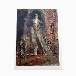 Leonor Fini - Rejection - Original Lithograph 1964