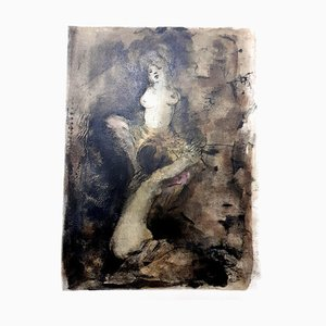Leonor Fini - Pleasure - Original Lithograph 1964
