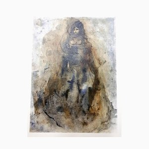 Leonor Fini - Sadness - Original Lithograph 1964
