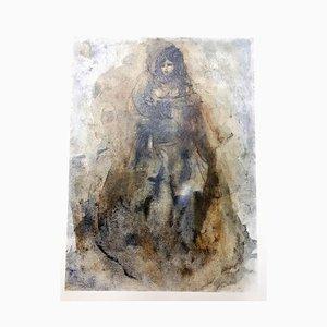 Leonor Fini - Sadness - Original Lithographie von 1964
