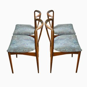Juliane Chairs by Johannes Andersen for Uldum Mobelfabrik, Set of 4
