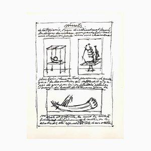 Alberto Giacometti Original Lithograph 1952