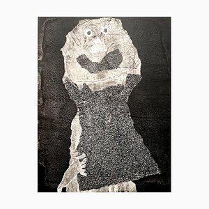 d'après Jean Dubuffet - Man - Pochoir 1960
