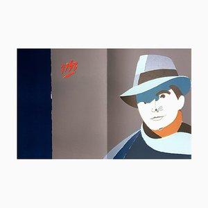 Lithographie Eduardo Arroyo - Jean Moulin - Lithographie Originale 1984