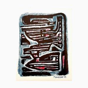 Alfred Manessier - Maze - Original Lithograph 1954