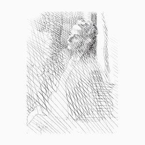 Jacques Villon - Woman - Original Radierung Circa 1949