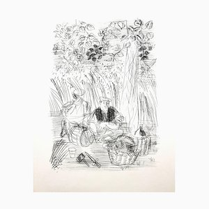 Raoul Dufy - Paysan - Original Etching 1940